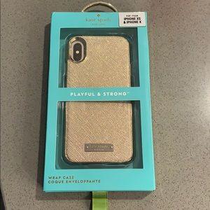 NWT Kate Spade XS/X iPhone Case